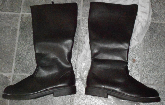 NEW Captain Kirk Replica Leather Boots Size 14 XL $140