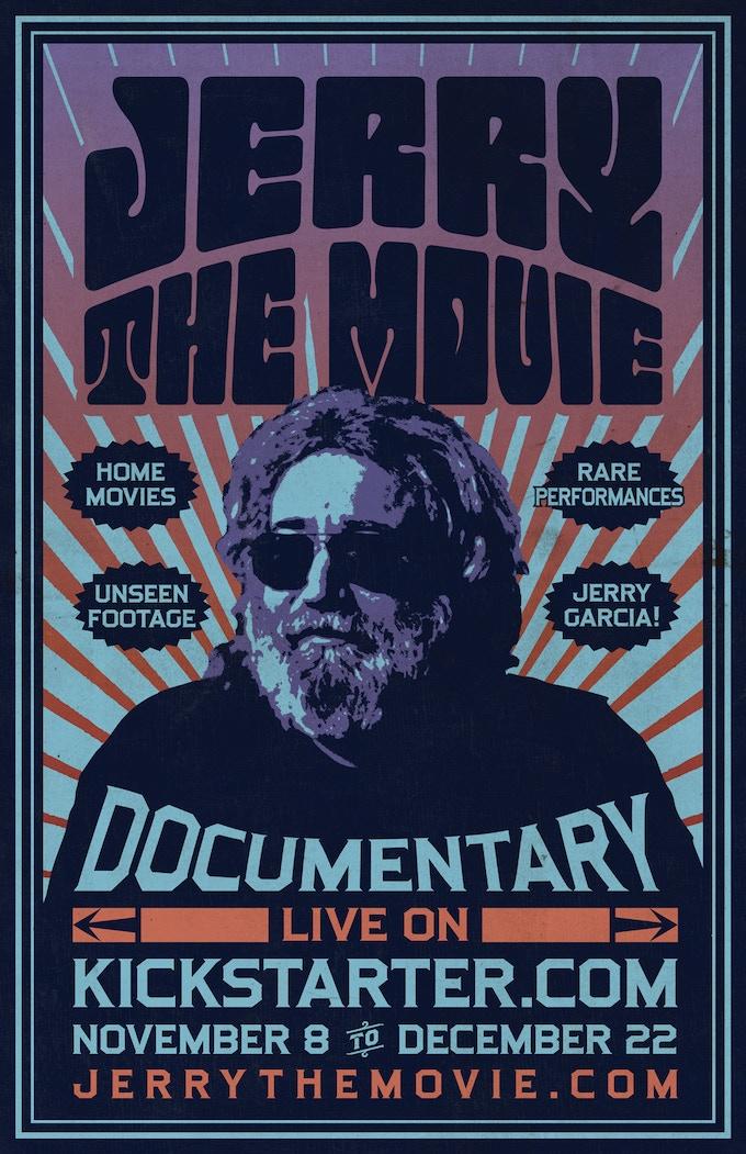 Jerry: The Movie - Kickstarter Poster (artwork by Mike Nissen)