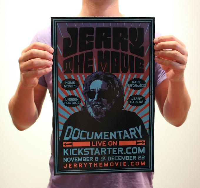 Jerry: The Movie - Kickstarter Poster 11' x 17'