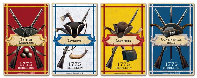 1775 - Rebellion (Birth of America Series) by Academy Games