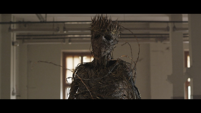 Screenshot of one of the creatures that haunts the main character