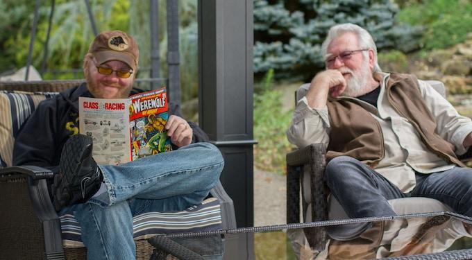 Author Michael Friedlander and Illustrator Michael Ploog - Pittsburgh, 2012