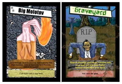 """Nothing says """"fun"""" like the Big Molotov and a Graveyard"""