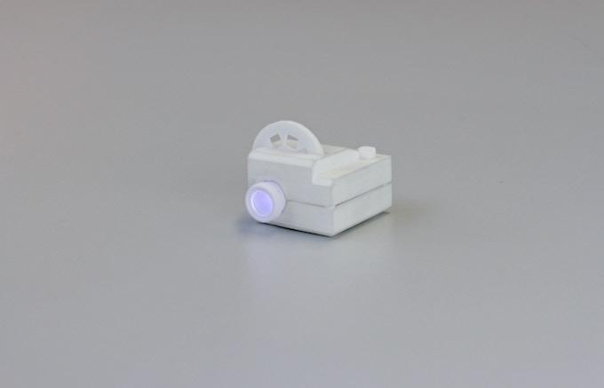 SLS printed prototype