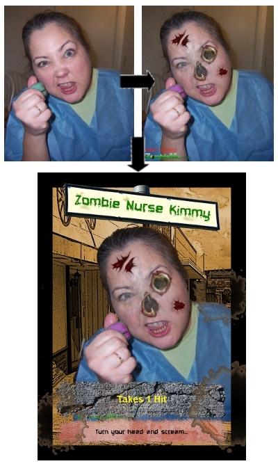 Sample Zombie 3 - Zombieme.com!  Yuck...