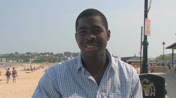 "FIDELIS, from Zimbabwe: ""Every problem at MIT is hard. If you survive, you learn that every problem can be solved."""