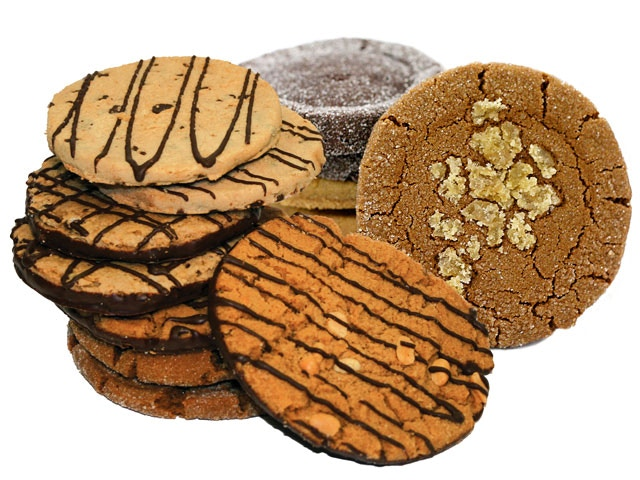 More mouth-watering photos of cookies...