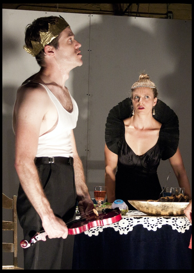 A scene from Salome, performed by the Annex Theater