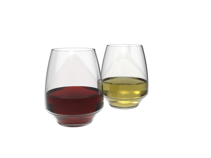 Custom Wine Glasses by Michael Liebowitz