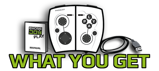 PhoneJoy Play: Turn your phone into a console! by PhoneJoy