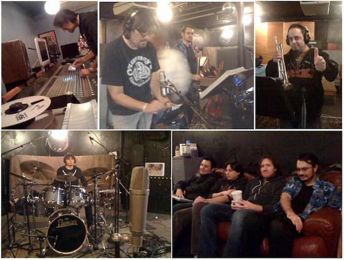 At Mambo Studios in Long Beach, CA