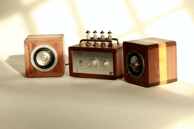 BlueTube amplifier and speaker combo