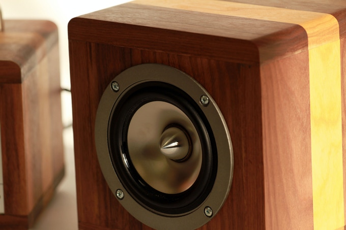 Matching the Amplifier with Cherry and Walnut Hardwoods