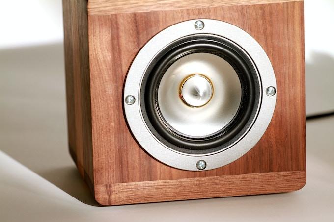 Titanium Cones and Cast Speaker Cage provide a superior sound