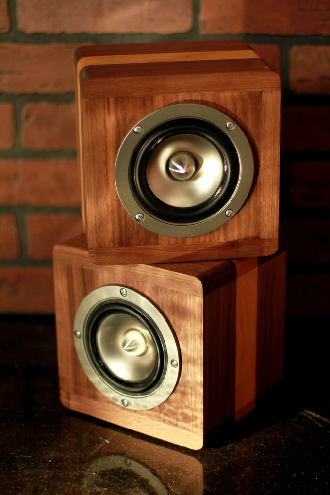 A pair of speakers is all you need to fill a room with the beautiful sounds of music playing the way it was meant to be heard.