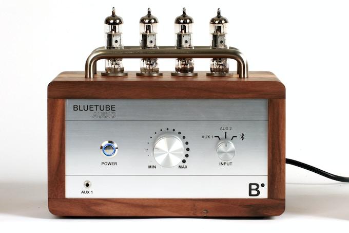 BlueTube Amplifier Front