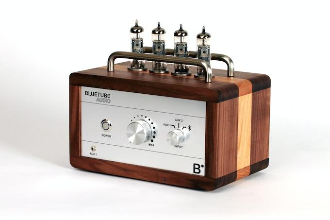 BlueTube Amplifier 1/4 view