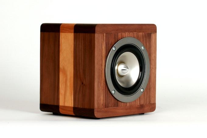 BlueTube Speaker 1/4 View Front