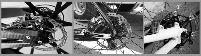 "Some bikes may need longer skewers or a $15 part to ""swap"" onto unusual frames or brakes. Thru-axels aren't very common, so not yet designed, and will require custom axel mounts."