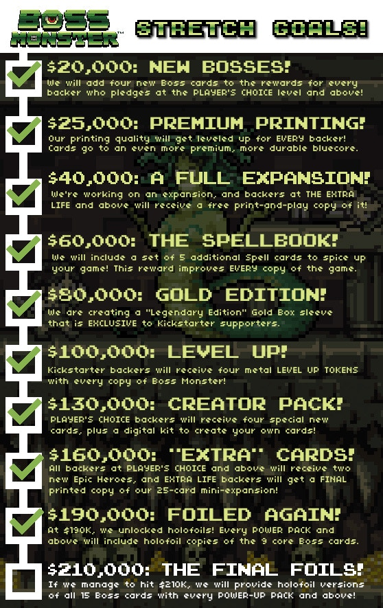 Domain Stretch Goals!