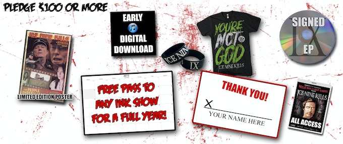 Ice Nine Kills EP/CD RELEASE FUND! by Spencer Charnas