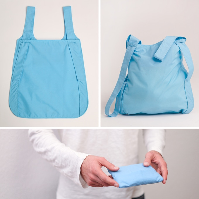 From a hand-sized pouch to a backpack – Notabag's versatility makes it easy to have it with you wherever you go.