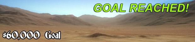 $60,000 Goal - Desert Lands - REACHED