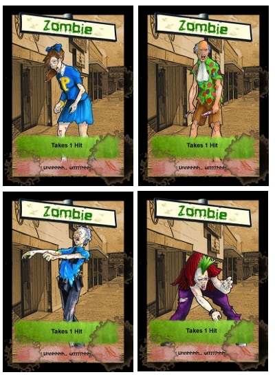 Meet the New Zombies!  Another New One Every $100!