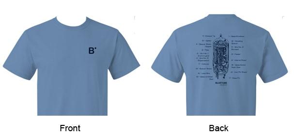 BlueTube T-shirt design