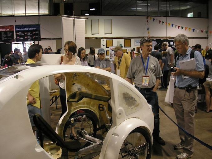 The JIT ELF prototype at Maker Faire