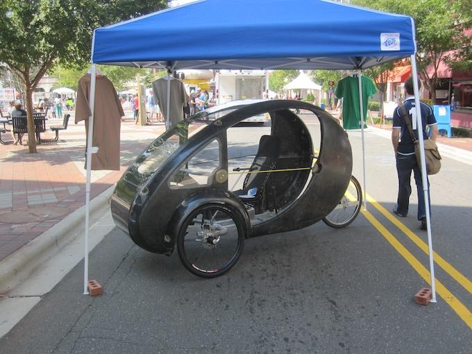 Carbon lite ELF on display at Durham Centerfest