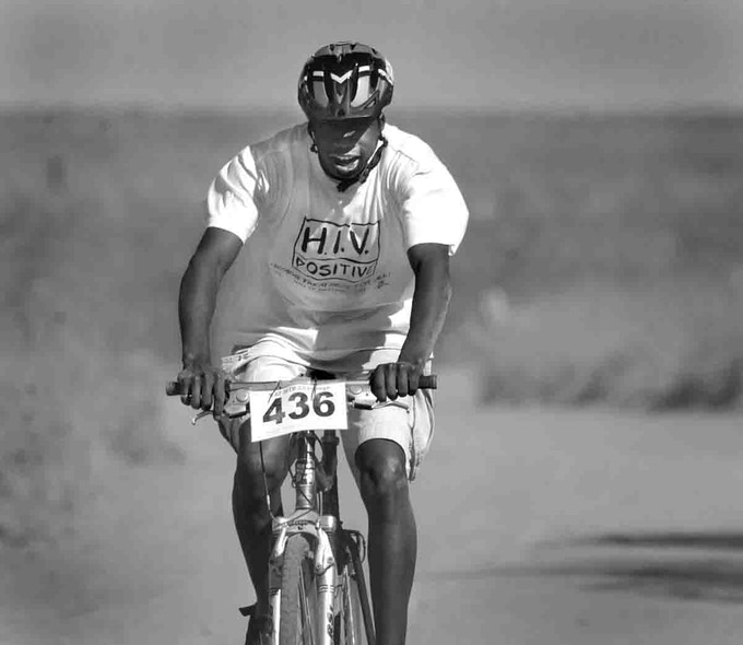 Khaya mountain biking in the Eastern Cape, South Africa