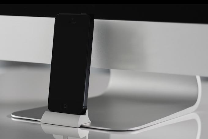 iPad Pro Sleeve - Grey Felt & Brown Leather Strap - byrd