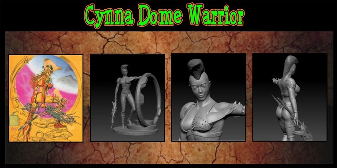 Cynna 75% complete. Sculpted by INNER | LEAF Adam@inner-leaf.com