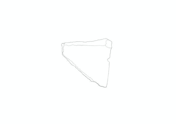Ascari,«Luogo Comune. Reperto # 27»,2012, pencil on paper, 21 x 29,7 cm