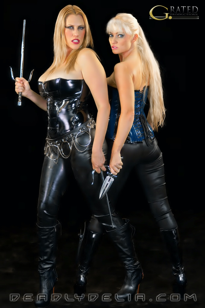 Deadly Delia and Blonde Raven