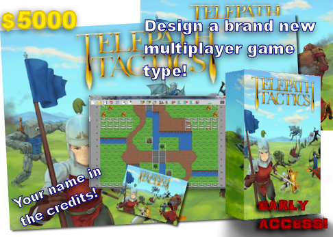 At $5000, you can instead choose to work with me to design a totally new multiplayer game mode! Here, too, you'll be credited as an Assistant Designer.