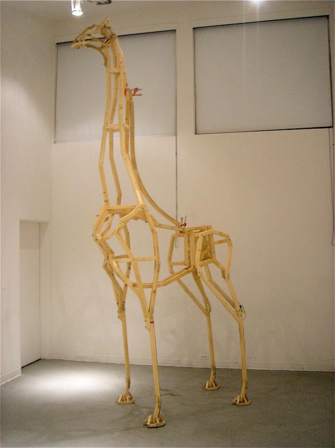 ABIGAIL sketch model in 2005. Remade in steel in 2009.