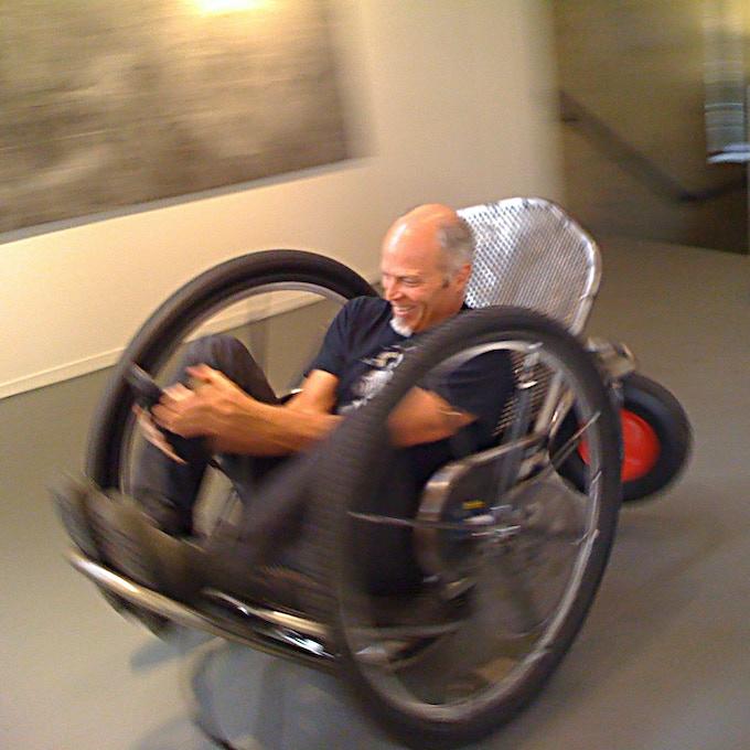 LOIS FROST / 2009, Test driver - CCA Professor Barney Haynes.