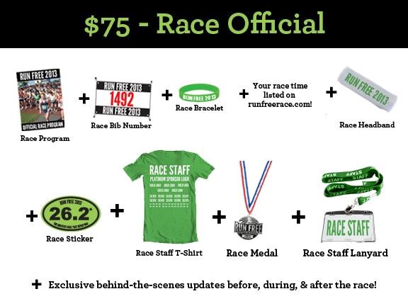 $75 - Race Official