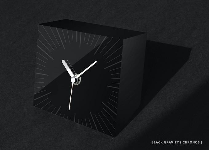 NEW DESIGN: BLACK GRAVITY { CHRONOS }