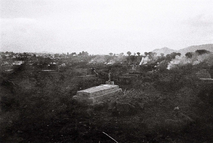 excerpt from THIS IS CONGO - Goma cemetary