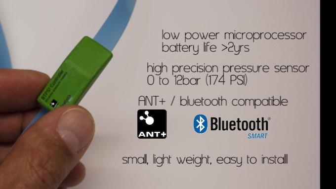 main features of the Bike Tire Pressure Sensor!
