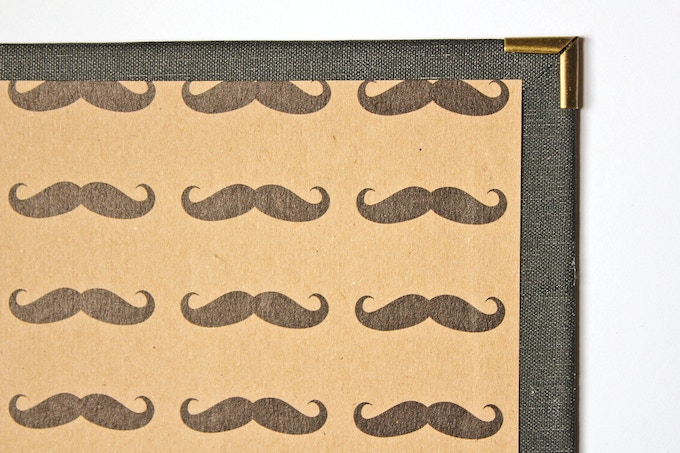 Get your stache on!  Any proceeds from our stache design will go to Movember
