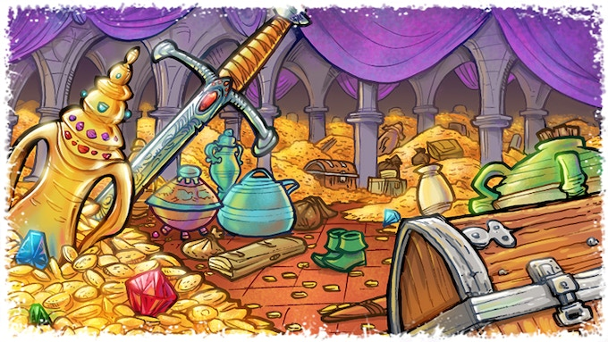 Treasure Vault: This is the most valuable room to control.