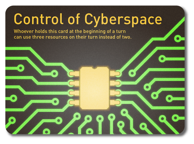 Control of cyberspace is a key strategic consideration.