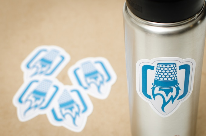 Every backer will help ThreadLab become a reality. For all pledges of $5 or more, you'll get a great ThreadLab logo sticker printed on durable white vinyl by our friends at Sticker Robot. Even these are made in the USA!