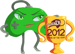 """vote for """"Best Indie Title of 2012!"""""""