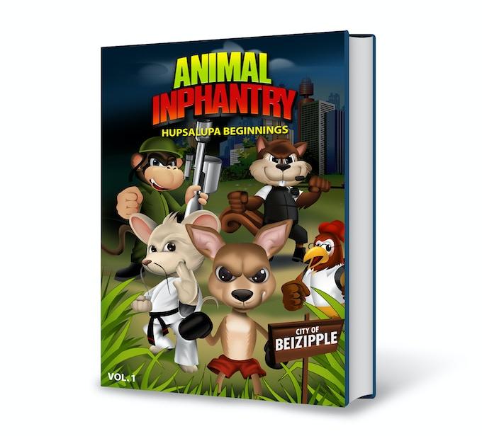 Animal Inphantry Graphic Novel Volume 1