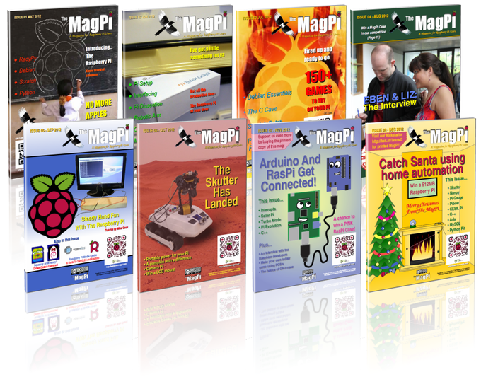 The Mag Pi - Volume 1 (Issues 1 to 8)